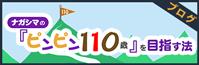 ブログ:ナガシマの『ピンピン110歳』を目指す法