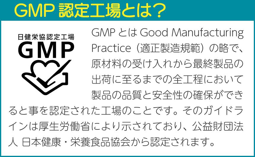 GMP認定工場とは?