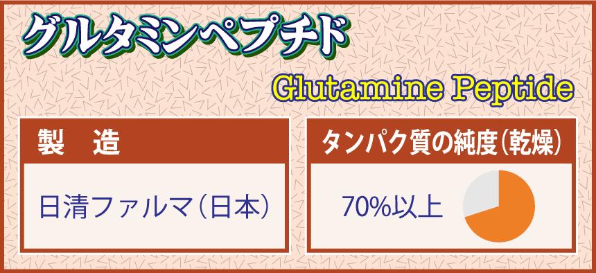 グルタミンペプチド